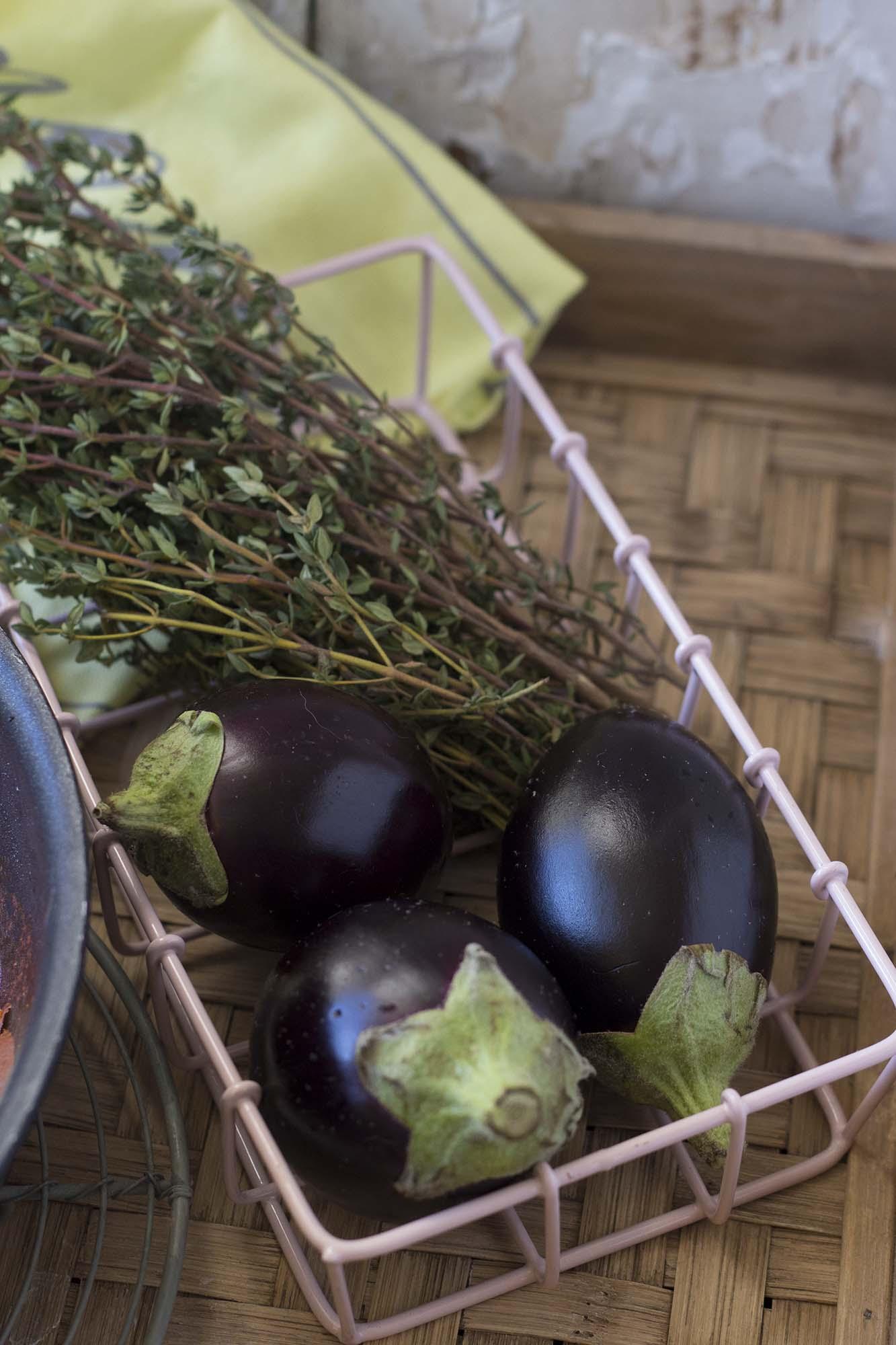 Shakshuka med aubergine