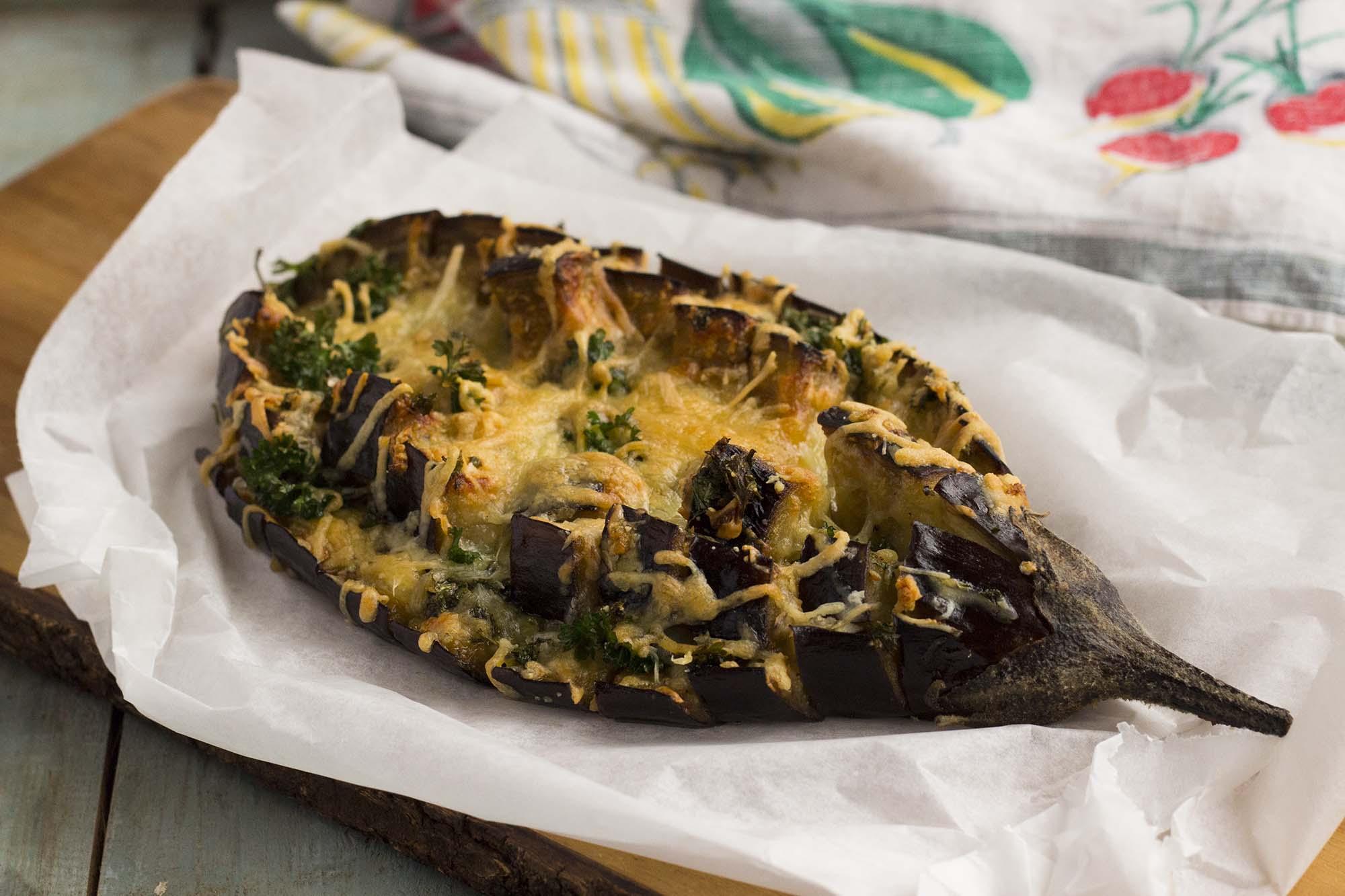 Pull-apart aubergine