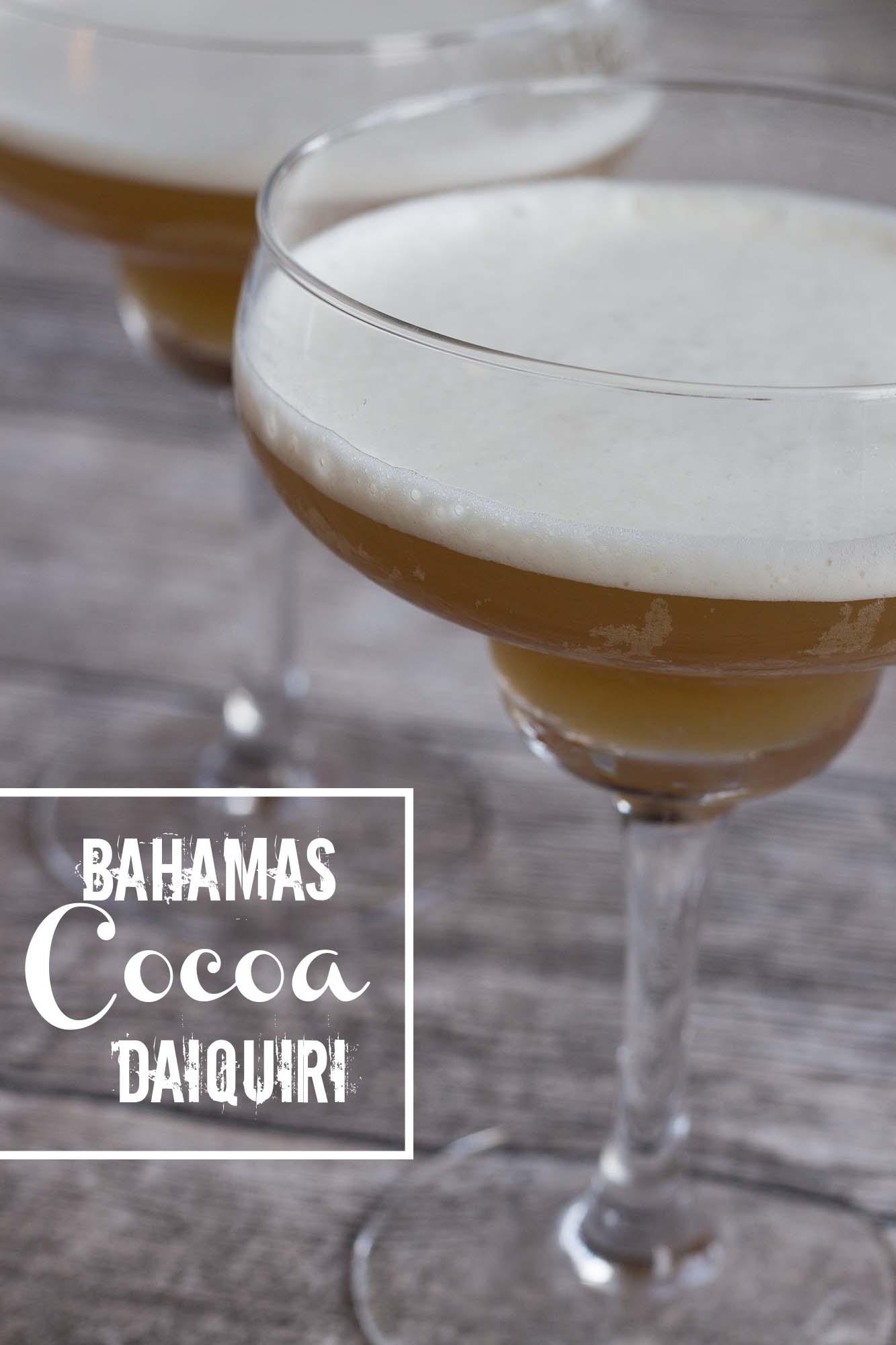 Bahamas Cocoa Daiquiri