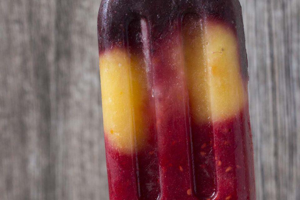 Ispinde kun med frugt