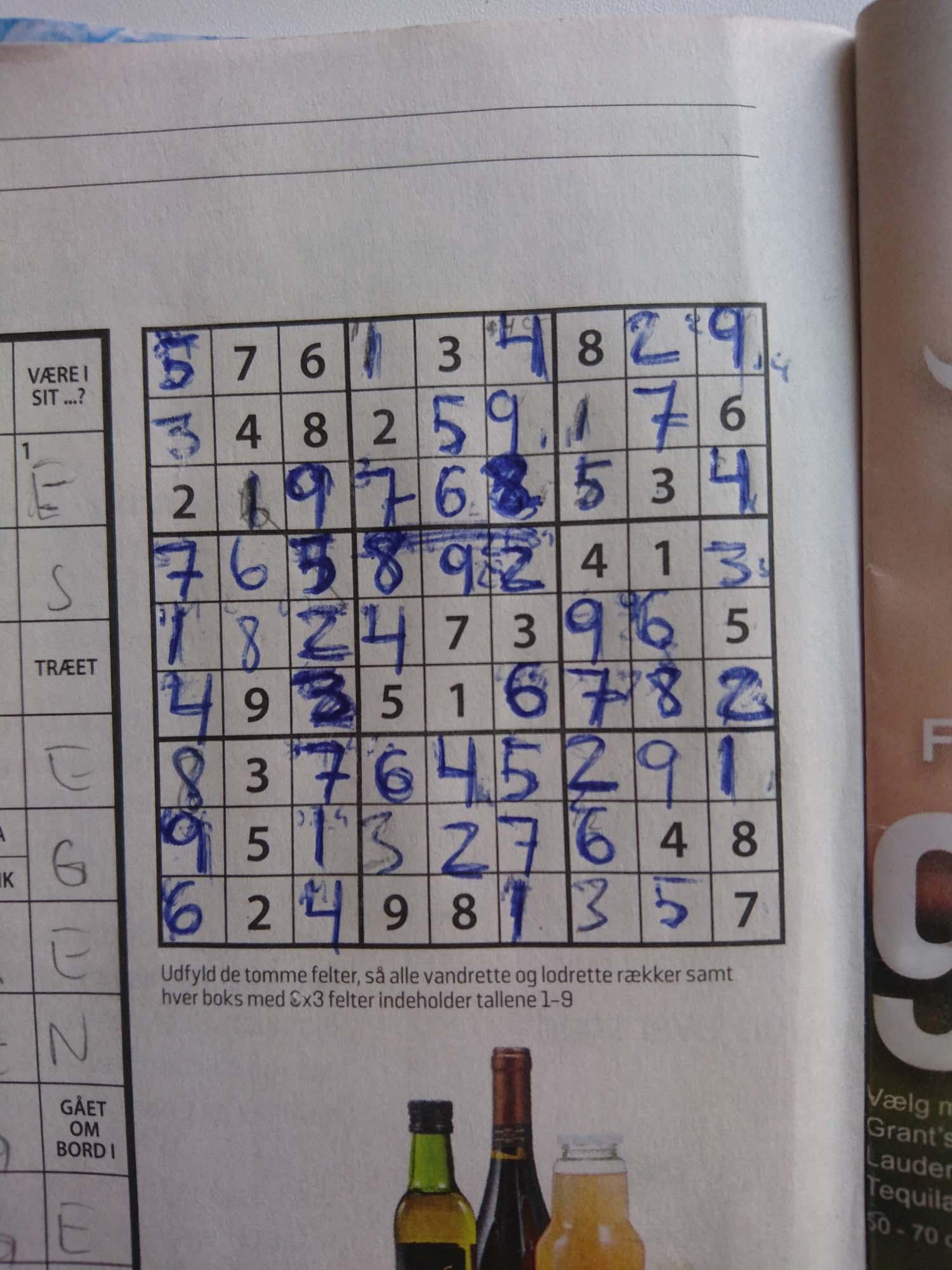 Staycation uge 1_Sudoku