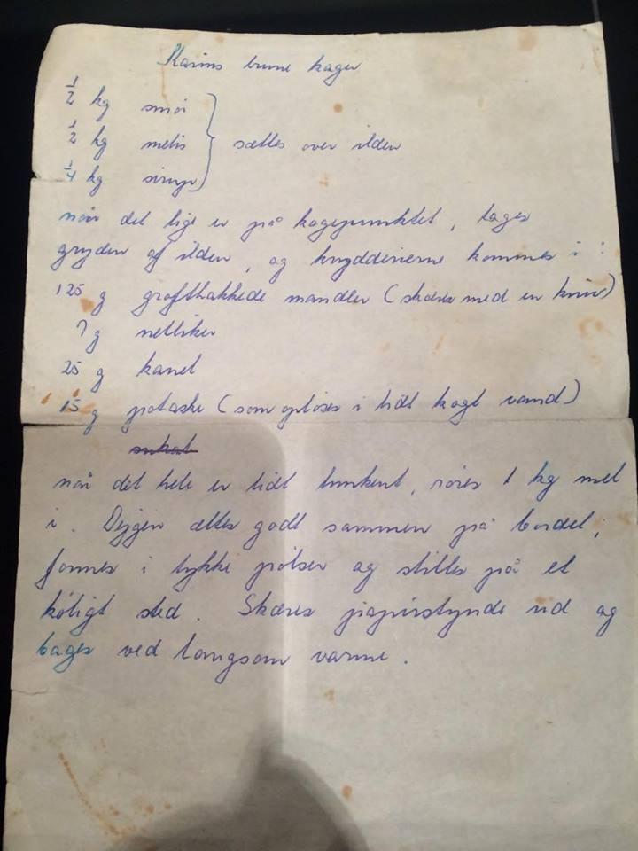 Karin Dauggårds brunkager_opskrift