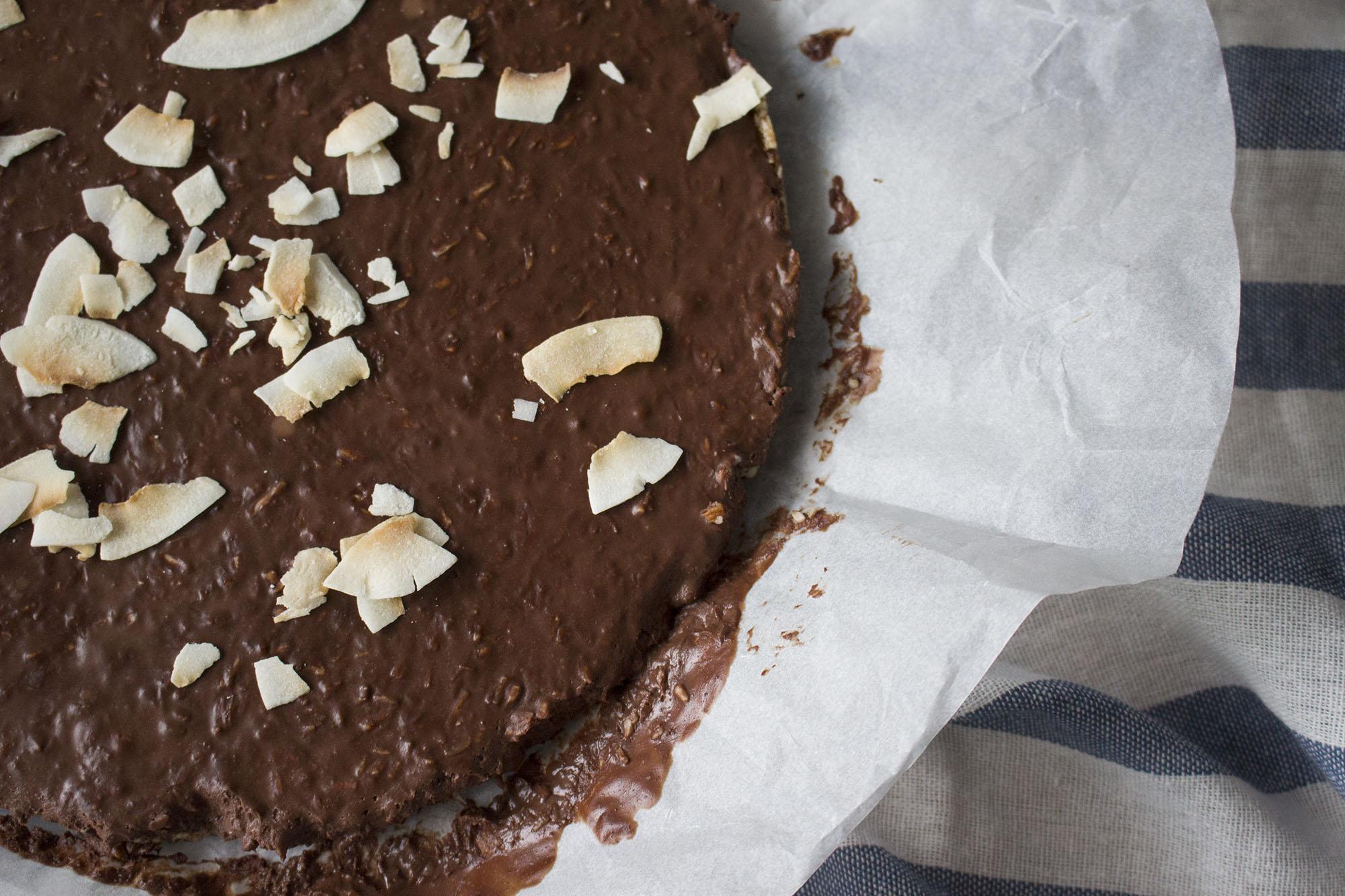 No-bake Bountytærte