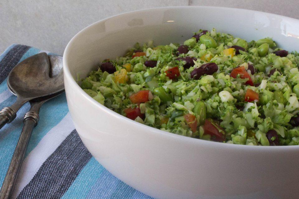 Farverig broccolicouscous
