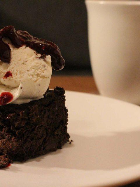Black bean brownie i crockpot